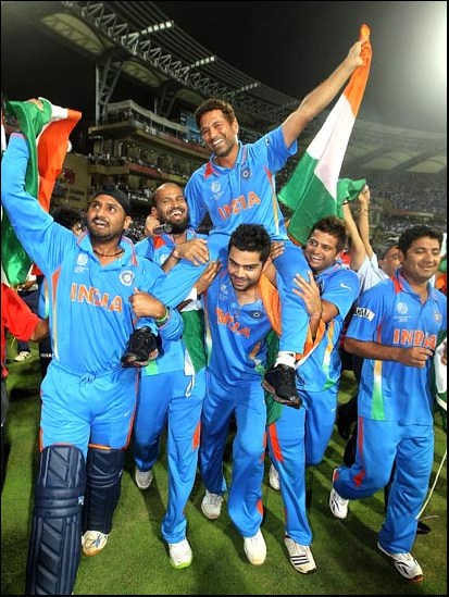 INDIA CRICKET WORLD CHAMPIONS