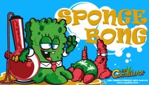 Bong esponja