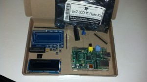 Component del kit LCD 16x2 i 5 botons
